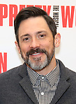 Steve Kazee attends the photo call for the New Broadway Bound Musical 'Pretty Woman' on January 22, 2018 at the New 42nd Street Studios in New York City.
