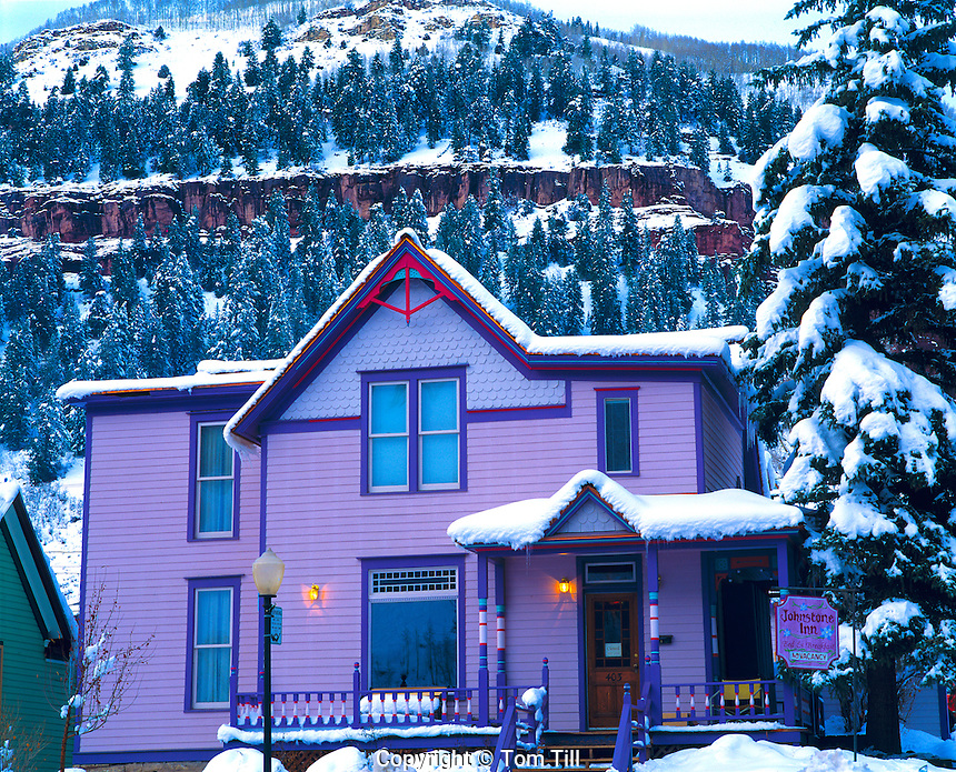 Victorian house, Telluride Historic District, Colorado