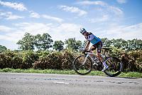 Clément Venturi (FRA/AG2R-La Mondiale)<br /> <br /> Stage 12 from Chauvigny to Sarran (218km)<br /> <br /> 107th Tour de France 2020 (2.UWT)<br /> (the 'postponed edition' held in september)<br /> <br /> ©kramon