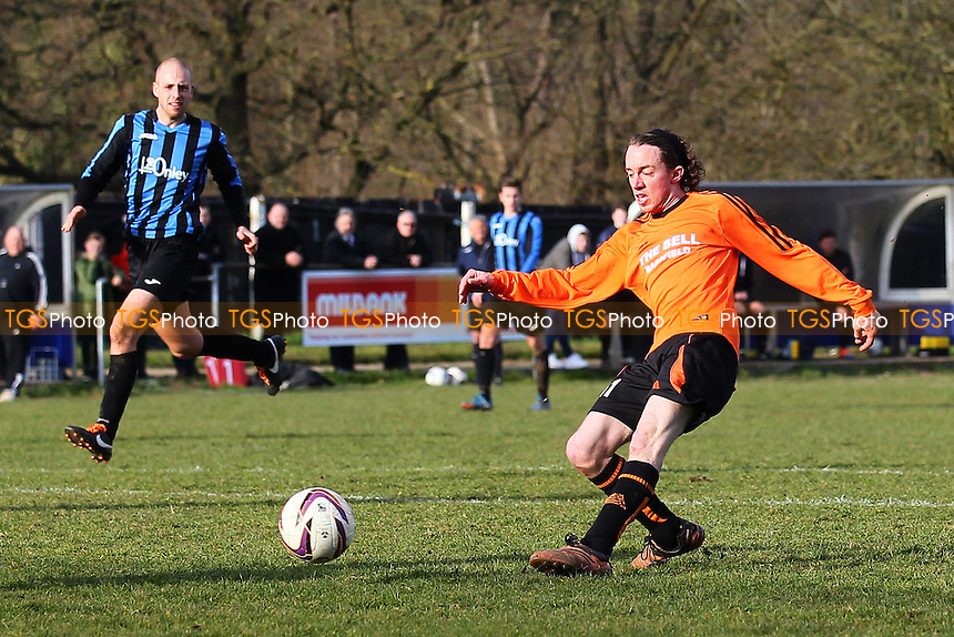 Great Bardfield vs Onley Arms, Braintree & North Essex League Cup Final Football at Rosemary Lane on 20th March 2016