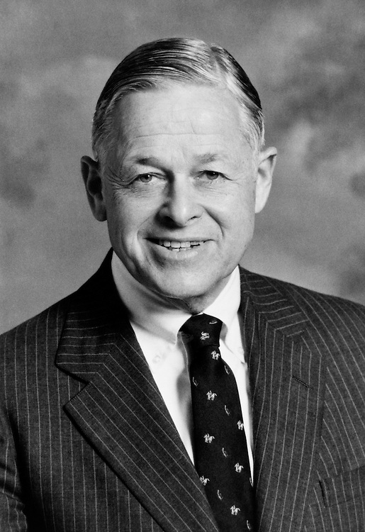 Rep. James M. Clarke, D-N.C. in 1989. (Photo by CQ Roll Call)