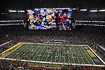 ARLINGTON, TX - FEBRUARY 6:  A general view of # of the Green Bay Packers against # of the Pittsburgh Steelers during Super Bowl XLV on February 6, 2011 in Dallas, Texas. (Photo by Donald Miralle) *** Local Caption ***