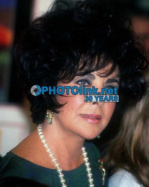 Elizabeth Taylor 1993 <br /> Photo By John Barrett/PHOTOlink