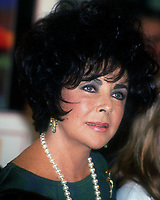 Elizabeth Taylor 1993 <br /> Photo By John Barrett/PHOTOlink