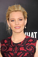 Elizabeth Banks at the What To Expect When You're Expecting premiere at Grauman's Chinese Theatre in Hollywood, California. May 14, 2012. © mpi35/MediaPunch Inc.