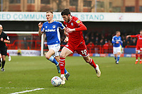 Ashley Nadesan of Crawley Town during Crawley Town vs Oldham Athletic, Sky Bet EFL League 2 Football at Broadfield Stadium on 7th March 2020