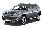 Front three quarter view of a 2007 - 2012 Citroen C-CROSSER Exclusive  SUV 4WD