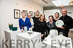 Pictured at Tech Amergin, Waterville on Tuesday evening for the Exhibition opening of Ceramic Art by students from Tech Amergin, and Photographs by Karl Blossfeldt(1865-1932, best known for his close-up photographs of plants and living things) who's work was the inspiration for the students, pictured here l-r; Breda Fenton, Eva Herrmann, Jeanine Somers, Jane Urquhart, Eileen O'Sullivan, Anja Gnauck(Tutor) & Michael Herrmann.  The exhibition will run till the first week in June.