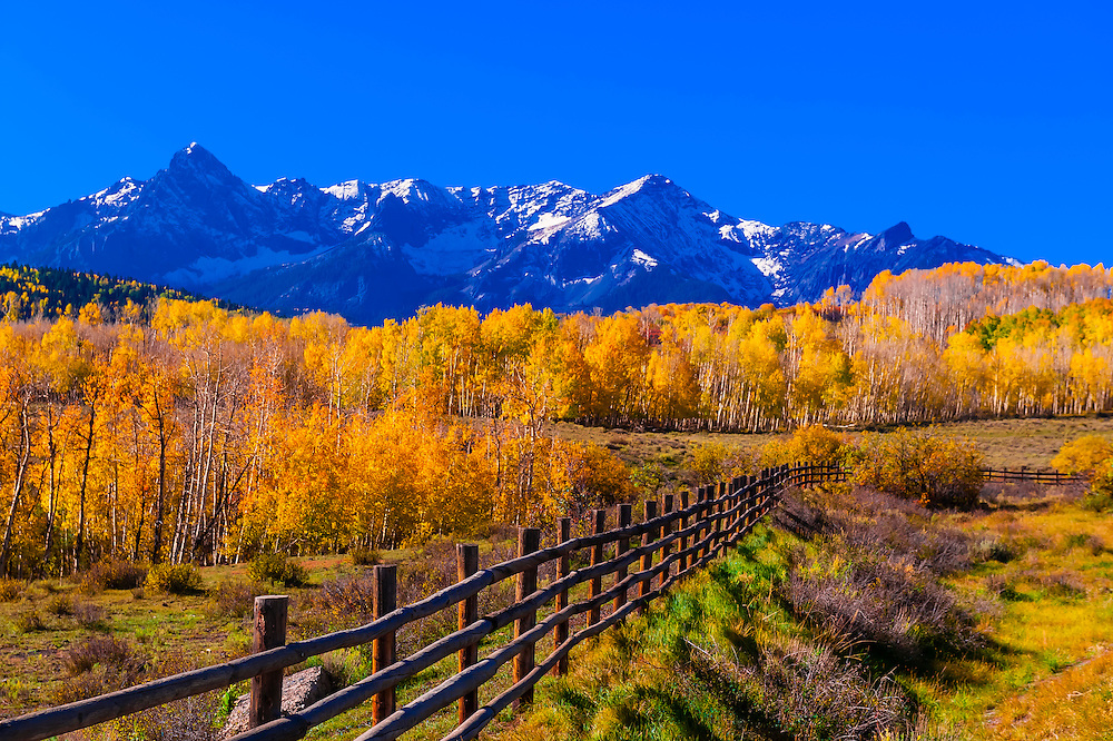 Evergreen, Colorado - A Historic Area with Colorful