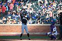 Ichiro Suzuki (Marlins),<br /> MAY 30, 2015 - MLB :<br /> Ichiro Suzuki of the Miami Marlins at bat during the Major League Baseball game against the New York Mets at Citi Field in Flushing, New York, United States. (Photo by Thomas Anderson/AFLO) (JAPANESE NEWSPAPER OUT)