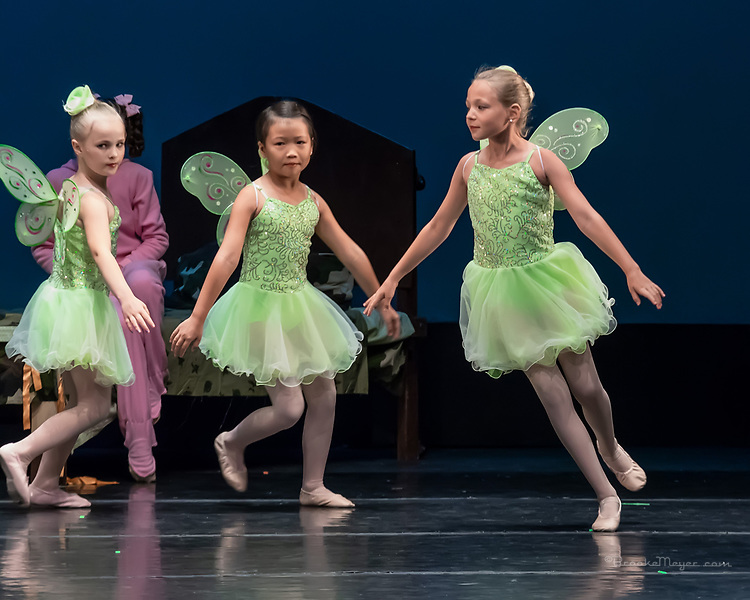 """Friday 7 PM Performance of """"Flight To Neverland"""", the 2019 Annual Showcase by the Cary Ballet Conservatory."""