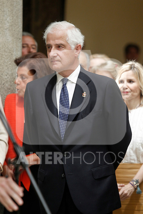 Juan Carlos Fitz-James Stuart and Martinez de Irujo, Duke of Alba during the commemoration of the bicentennial of the Delegation of the Greatness of Spain. June 16,2015. (ALTERPHOTOS/Acero)