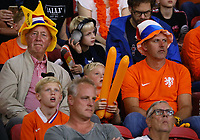 Niederländische Fans - 13.10.2018: Niederlande vs. Deutschland, 3. Spieltag UEFA Nations League, Johann Cruijff Arena Amsterdam, DISCLAIMER: DFB regulations prohibit any use of photographs as image sequences and/or quasi-video.