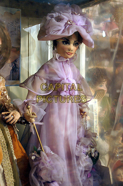 DOLL - AUDREY HEPBURN.Vina Cooke Museum of Childhood & Bygone Childhood, The Old Rectory, Cromwell..May 22nd, 2005.www.capitalpictures.com.sales@capitalpictures.com.©Capital Pictures