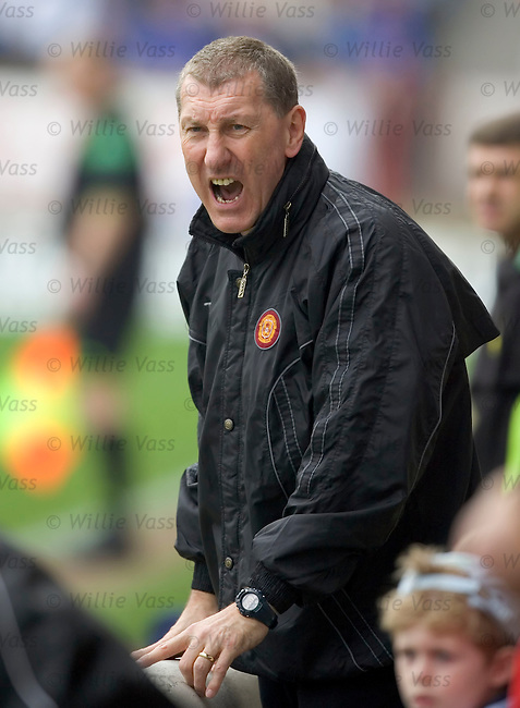 Terry Butcher, Motherwell.stock season 2004-2005.pic willie vass