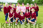 The Ballybunion team that played in the ILGU competition in Beaufort on Monday front row l-r: Janice O'Connell,Catriona Corrigan, Nora Quaid, Margaret McAulliffe, Josette O'Sonnell. Back row: Anna riordan, Deirdre Dillane, Lorraine Canty, Susan Gilmore, Eileen Kenny Ryan Lady Captain, Mags O'sullivan, Patricia Joyce and Mary O'Donoghue