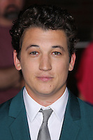 "WESTWOOD, LOS ANGELES, CA, USA - MARCH 18: Miles Teller at the World Premiere Of Summit Entertainment's ""Divergent"" held at the Regency Bruin Theatre on March 18, 2014 in Westwood, Los Angeles, California, United States. (Photo by Xavier Collin/Celebrity Monitor)"