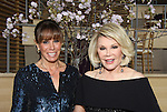 Joan Rivers (Another World) passes away on August 29, 2014 at age 81 poses with her daughter Melissa Rivers (Bold and The Beautiful)  - Photo taken when two were the hosts of the American Foundation for Suicide Prevention (AFSP) 23rd Annual Lifesavers Dinner on May 11, 2011 at the Allen Room at the Time Warner Center, New York City, New York. (Photo by Sue Coflin/Max Photos - 917-647-8403)