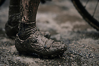 post-finish shoes<br /> <br /> Women's Race<br /> CX Vlaamse Druivencross Overijse 2017