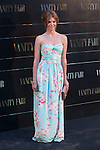 Manuela Velasco poses at Vanity Fair Awards photocall at Santo Mauro hotel in Madrid, Spain. July 10, 2014. (ALTERPHOTOS/Victor Blanco)