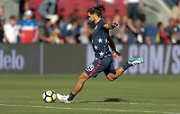 Santa Clara, CA - Wednesday July 26, 2017: Graham Zusi during the 2017 Gold Cup Final Championship match between the men's national teams of the United States (USA) and Jamaica (JAM) at Levi's Stadium.