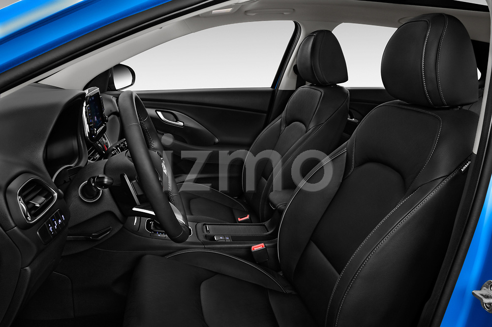 Front seat view of 2017 Hyundai i30 Luxury-Launch-Edition 5 Door Hatchback Front Seat  car photos