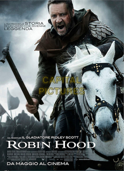 ITALIAN POSTER ART.in Robin Hood (2010) .*Filmstill - Editorial Use Only*.CAP/FB.Supplied by Capital Pictures.