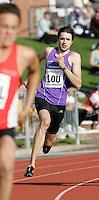 20 MAY 2007 - LOUGHBOROUGH, UK - Martyn Rooney (LOU) - 4x400m Relay - Loughborough International Athletics. (PHOTO (C) NIGEL FARROW)