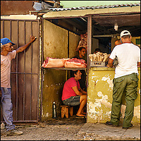 Faces Of Cuba - meat fresh daily and grass feed!
