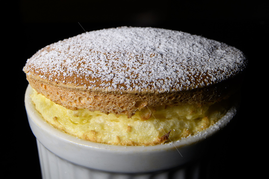 Melbourne, June 29, 2018 - A souffle at Philippe Restaurant in Melbourne, Australia. Photo Sydney Low