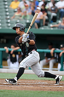 Kane County Cougars Cheslor Cuthbert #8 during a game against the South Bend Silver Hawks at Coveleski Stadium on July 24, 2011 in South Bend, Indiana.  Kane County defeated South Bend 7-5.  (Mike Janes/Four Seam Images)