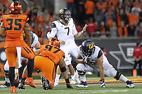 CORVALLIS, OR - October 8, 2016: Cal Bears Football team vs. the Oregon State University Beavers at Reser Stadium. Final score, Cal Bears 44 , Oregon State University Beavers 47.