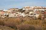 Housing in Farkhana, Morocco over border  from autonomous city state Spanish territory in north Africa, Spain