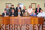 The Last 12 Councillors   of the Tralee Town Council on Monday 19th May 2014. Pictured Front Cathal Foley ,Ted Fitzgerald,  Mayor of Tralee Pat Hussey, Johnny Wall, Mairead Fernane,  Terry O'Brien, Back , Sam Locke, Norma Foley, Pa Daly,Gillian Wharton Slattery, Grace O'Donnell,  Dan Galvin,
