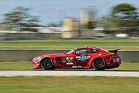 IMSA Continental Tire SportsCar Challenge<br /> Sebring February Test<br /> Sebring International Raceway, Sebring, Florida, USA<br /> Wednesday 21 February 2018<br /> #92 Ramsey Racing, Mercedes-AMG, GS: Mark Ramsey, Alexandre Premat<br /> World Copyright: Richard Dole<br /> LAT Images