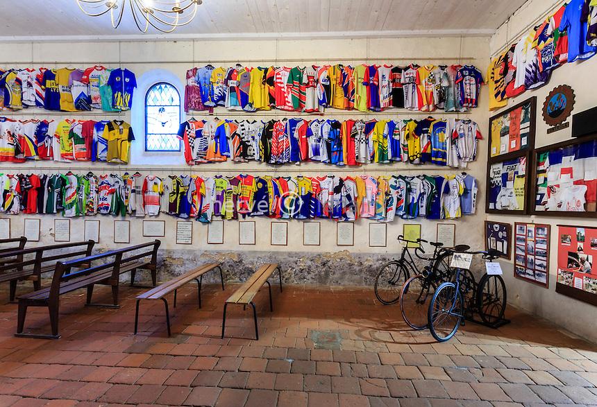 France, les Landes (44), Labastide-d'Armagnac, chapelle Notre-Dame-des-Cyclistes // France, Landes, Labastide-d'Armagnac, Notre Dame des Cyclistes chapel