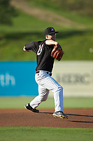 Kannapolis Intimidators starting pitcher Taylor Varnell (29) in action against the Augusta GreenJackets at Kannapolis Intimidators Stadium on June 21, 2019 in Kannapolis, North Carolina. The Intimidators defeated the GreenJackets 6-1. (Brian Westerholt/Four Seam Images)