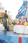 """General Hospital's Kristen Alderson """"Starr Manning"""" on the float at the Philadelphia 93rd Annual Thanksgiving Day Parade on November 22, 2012 in Philadelphia, Pennsylvania. (Photo by Sue Coflin/Max Photos)"""