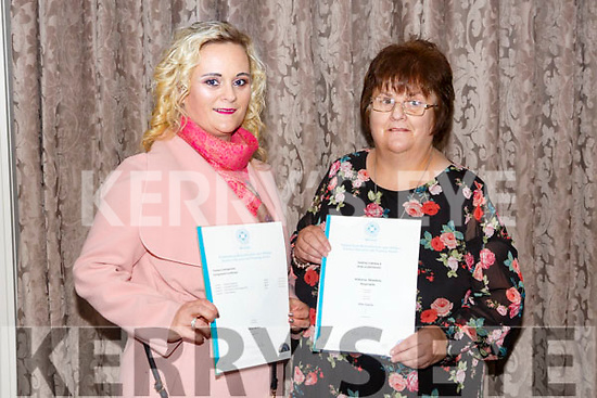 At the Kerry ETB  Graduations in the rose Hotel on Thursday were Retail Skills Health and Beauty Students Gillian Kerins Maher and Ellen Gaynor
