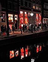 Nederland Amsterdam 2019. Red Light District. Oudezijds Achterburgwal. De Wallen. Het Red Light Secrets Museum. Foto Berlinda van Dam / Hollandse Hoogte