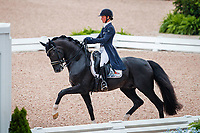 BEL-Fanny Verliefden rides Indoctro v.d. Steenblok during the FEI World Team Championship Grand Prix Dressage. 2018 FEI World Equestrian Games Tryon. Wednesday 12 September. Copyright Photo: Libby Law Photography