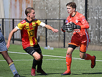 20190914– MECHELEN , BELGIUM : KV Mechelen and OHL players are pictured during the U16s Elite League match between KV Mechelen and Oud Heverlee Leuven on Saturday 14th 2019 at the KV Mechelen Youth Complex in Mechelen , Belgium. PHOTO SPORTPIX.BE | Sevil Oktem
