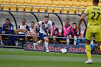 Bobby Burns of Newcastle Jets during the A League - Wellington Phoenix v Newcastle Jets at Sky Stadium, Wellington, New Zealand on Friday 24 January 2020. <br /> Photo by Masanori Udagawa. <br /> www.photowellington.photoshelter.com