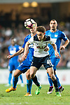Tottenham Hotspur Midfielder Luke Amos (C) in action during the Friendly match between Kitchee SC and Tottenham Hotspur FC at Hong Kong Stadium on May 26, 2017 in So Kon Po, Hong Kong. Photo by Man yuen Li  / Power Sport Images