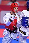 Masanojyo Honma (JPN), <br /> AUGUST 22, 2018 - Taekwondo : Men's -63kg Round 32 at Jakarta Convention Center Plenary Hall during the 2018 Jakarta Palembang Asian Games in Jakarta, Indonesia. <br /> (Photo by MATSUO.K/AFLO SPORT)