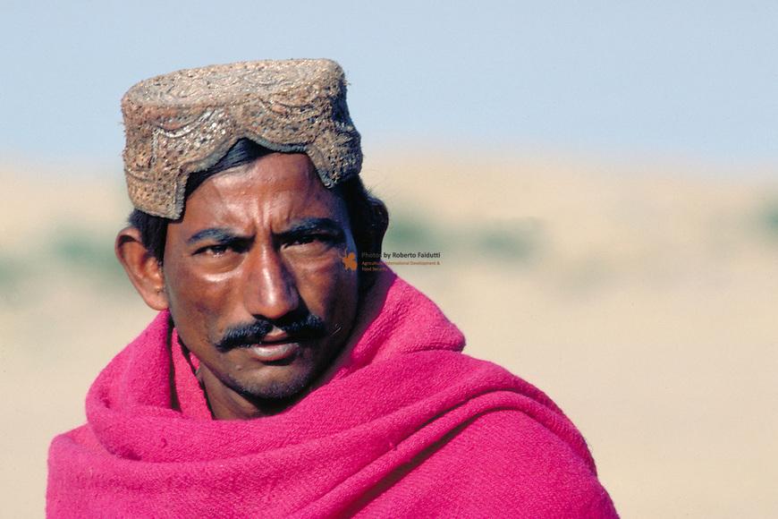 Portrait of indian farmer