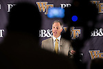2016.09.27 - NCAA FB - Wake Forest Weekly Press Conference