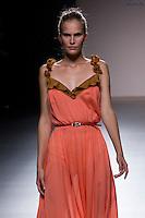02.09.2012. Models walk the runway in the Kina Fernandez fashion show during the Mercedes-Benz Fashion Week Madrid Spring/Summer 2013 at Ifema. (Alterphotos/Marta Gonzalez) /NortePhoto.com<br /> <br /> **CREDITO*OBLIGATORIO** <br /> *No*Venta*A*Terceros*<br /> *No*Sale*So*third*<br /> *** No*Se*Permite*Hacer*Archivo**<br /> *No*Sale*So*third*