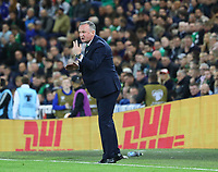 Nationaltrainer Michael O'Neill (Nordirland, Northern Ireland) - 09.09.2019: Nordirland vs. Deutschland, Windsor Park Belfast, EM-Qualifikation DISCLAIMER: DFB regulations prohibit any use of photographs as image sequences and/or quasi-video.