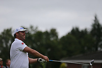 Shane McMahon (Warrenpoint) during the final  of the Ulster Mixed Foursomes at Killymoon Golf Club, Belfast, Northern Ireland. 26/08/2017<br /> Picture: Fran Caffrey / Golffile<br /> <br /> All photo usage must carry mandatory copyright credit (&copy; Golffile | Fran Caffrey)